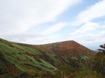 鬼面山周辺の紅葉