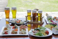 那須森のビール園